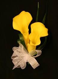 yellow calla yellow calla bridal bouquet with calla lilies