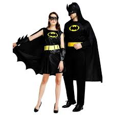 Batman Batgirl Halloween Costumes Compare Prices Black Batman Costume Shopping Buy