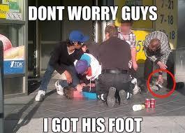 Foot Meme - i got his foot funny memes