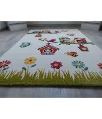 teppich f r kinderzimmer kinderzimmer teppich spielteppich für kinder eule biene creme
