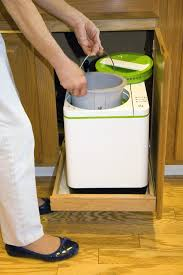 odorless indoor kitchen composter with no addictive required
