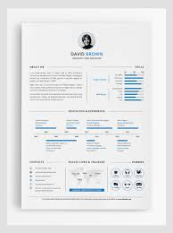 50 Best Resume Templates Design Graphic Design Junction by Simple Graphic Design Resume Template