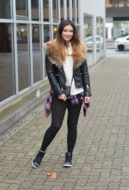 sweater with faux fur collar raspberry jam 176 biker jacket with faux fur collar