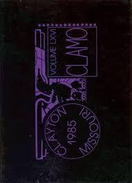 clayton high school yearbook 1985 clayton high school yearbook online clayton mo classmates