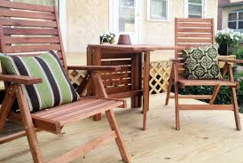 Outdoor Table And Chair Cover Table Wooden Garden Patio Sets Talkfremont