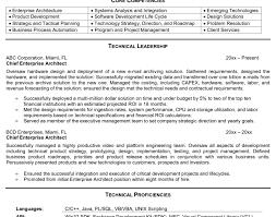 architect resume technical architect resume solution architect resume
