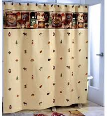 Themed Fabric Shower Curtains Outdoor Themed Shower Curtains Pmcshop