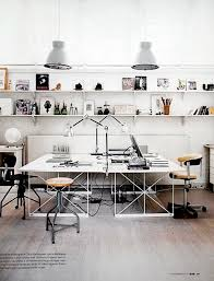 Creative Ideas Office Furniture Inspiring Studios And Creative Work Spaces Wall Shelving