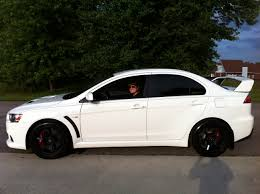 mitsubishi sports car white closing a chapter wicked white evo and me u2013 the wayfaring friend