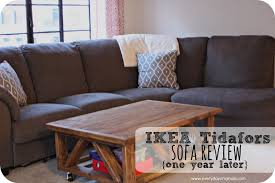 sofa reviews ikea tidafors sofa review one year later