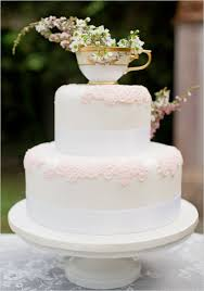 wedding cake diy cake a traditional white wedding cake with a dainty teacup