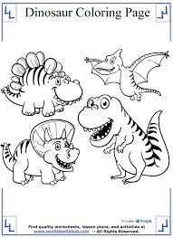dinosaur coloring pages pdf coloring page cartoon