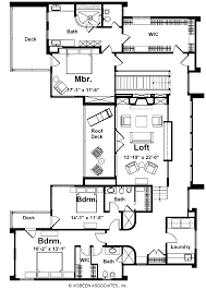 Floor Plan For 3 Bedroom House by 3 Bedroom 3 Bath House Plans