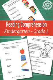 back to reading comprehension worksheets free printable