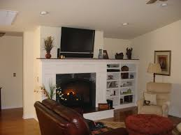 built in shelving next to fireplace home project inspirations