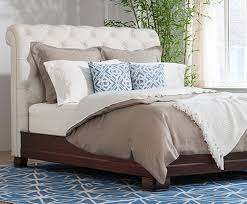 hampton bed white leather charles p rogers beds direct