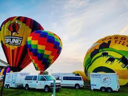 balloon rides daily by united states air balloon team