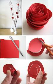 paper flower centerpieces diy paper flower centerpiece home design garden architecture