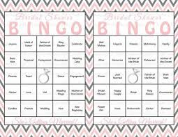 bridal shower gift bingo 30 bridal shower bingo cards diy printable party bridal