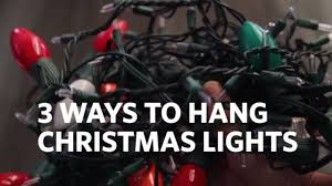 christmas light staple gun how to hang christmas lights on your house 3 different ways youtube