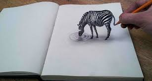 collection of inspiring 3d pencil drawings