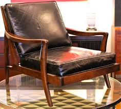 mid century chair chair mid century leather lounge chair