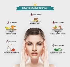 10 home remedies to remove sun femina in