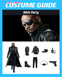 Nick Fury Halloween Costume Diy Nick Fury Costume Guide Cosplay