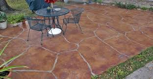 Concrete Patio Houston Stamped Concrete In Houston Tx The Concrete Network