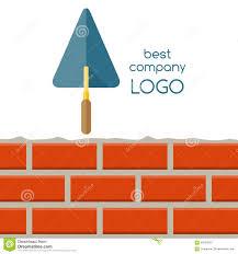 flat design of house repair logo stock vector image 56355502