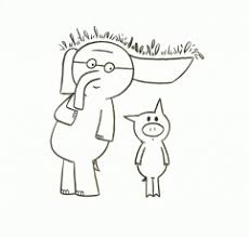 Coloring Page Elementary Library Pinterest Mo Willems Mo Willems Coloring Pages