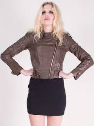 skinnjacka dam skinnjacka i kort modell skinnjackor jackor kavajer dam
