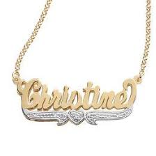 gold necklace with name in cursive name necklaces necklaces zales