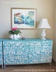 chez sheik moroccan furniture stencils for diy painted furniture