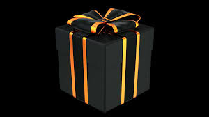 Gift Halloween by Halloween Style Gift Box 3d Animation With Alpha Matte Motion