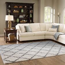 Carpets For Living Room by Thomasville Marketplace Luxury Trellis Shag Rugs