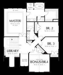 House Plans For Wide Lots Mascord House Plan 2230ce The Morecambe