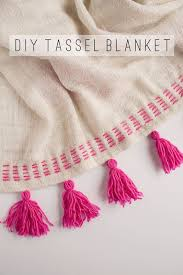 Ikea Blanket Tell Diy Tassel Blanket Tell Love And Partytell Love And Party