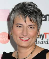 pictures of womens short dark hair with grey streaks 65 best short gray curly hair images on pinterest grey hair