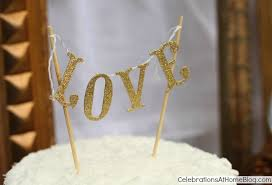 cake banner topper diy mini cake banner topper celebrations at home