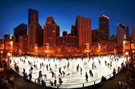 millennium park ice skating holiday jones chicago hostel