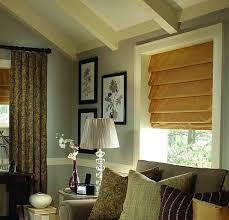 Inside Mount Window Treatments - hobbled roman shades