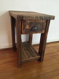 reclaimed wood end table the beauty of reclaimed wood end tables to decorate your homes