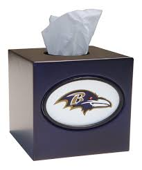 chrome tissue box cover 2 my husband probably needs this ravens kleenex box because they u0027re