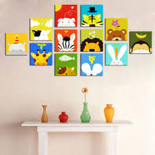 China Decorative Cartoon Pictures Canvas Art For Kids Room China - Canvas art for kids rooms