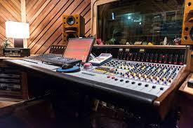 Recording Studio Mixing Desk by Recording Consoles Professional Audio Design Inc