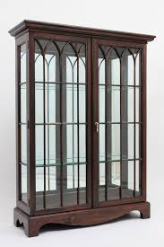 glass curio cabinets hand carved mahogany china cabinets