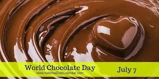 day chocolate world chocolate day national day calendar
