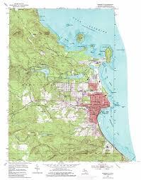 Mi Map Marquette Topographic Map Mi Usgs Topo Quad 46087e4
