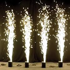 sparklers for weddings rent cold sparkler fountains for weddings and concert events sparkular